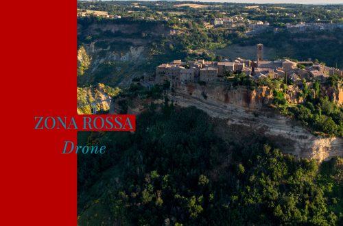 Drone Civita di Bagnoregio